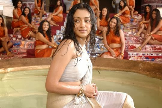 cinemesh trisha bheema photos trisha in bheema movie