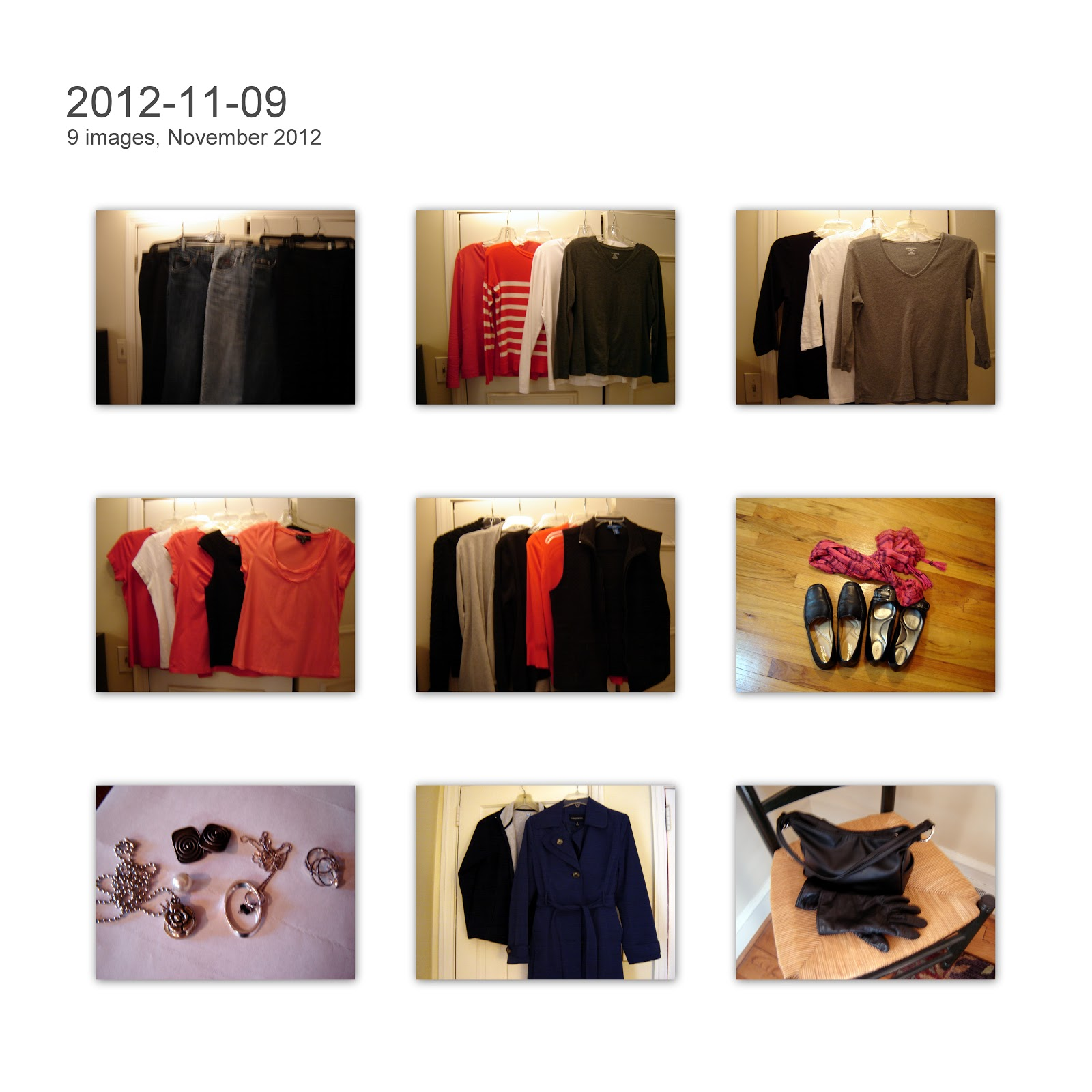 2014 Winter Capsule Wardrobe