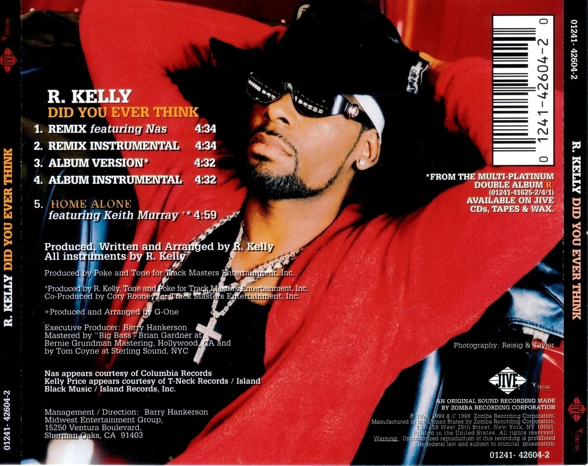 highest level of music r kelly feat nas did you ever