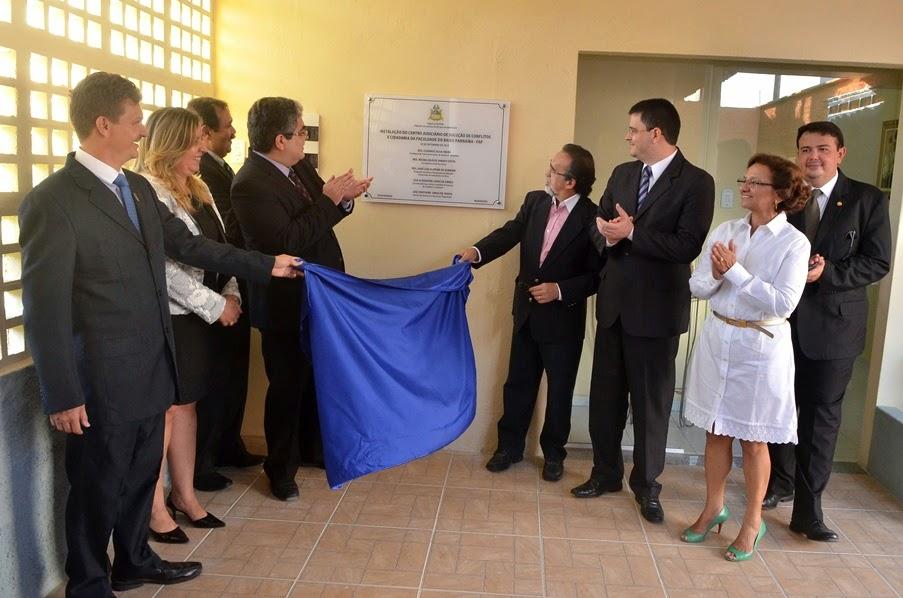 Inauguração do Centro de Conciliação de Chapadinha
