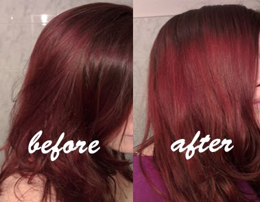vitamin c hair colore remover before after