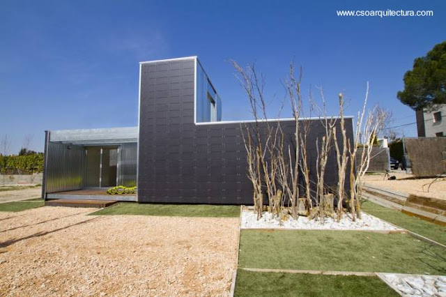 Casa moderna prefabricada modular