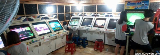Sala de videojuegos del jjimjilbang
