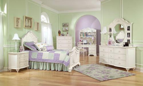 Mi casa mi hogar dormitorios para ni as estilo rom ntico - Casas estilo romantico ...