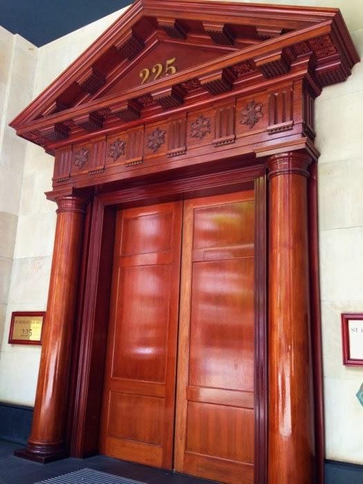 St George Building Doorway