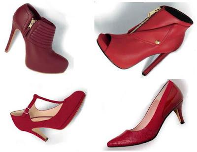 Zapatos Rojos Andrea OI 2015