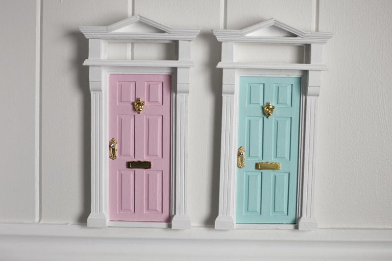 2 little bunnies the tooth fairy door for Elf door ideas