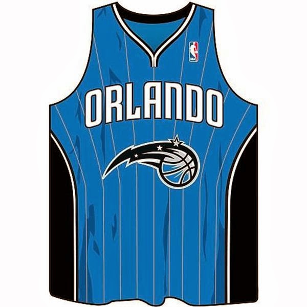 Orlando Magic NBA Jersey Mouse Pad