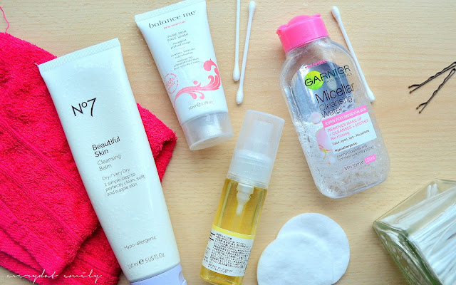 Simple cleansing routine