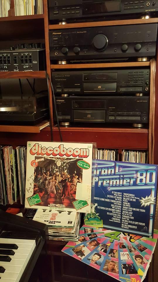 Dos Vinilos de oro, formato LP, en los años 78 y 79