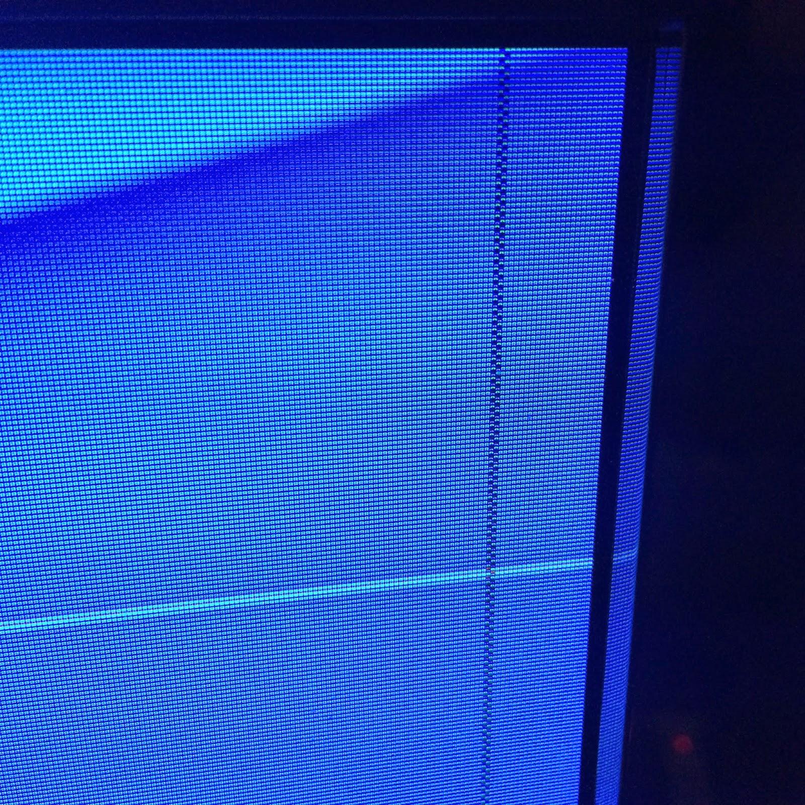 pikseleitä pimeänä Sony Braviassa