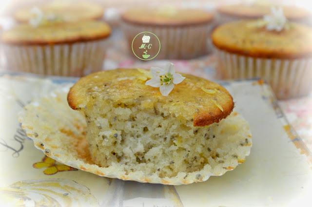 Cupcakes de chia