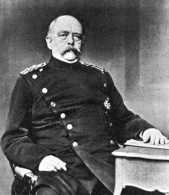 a history of the rule of bismarck as the chancellor in germany