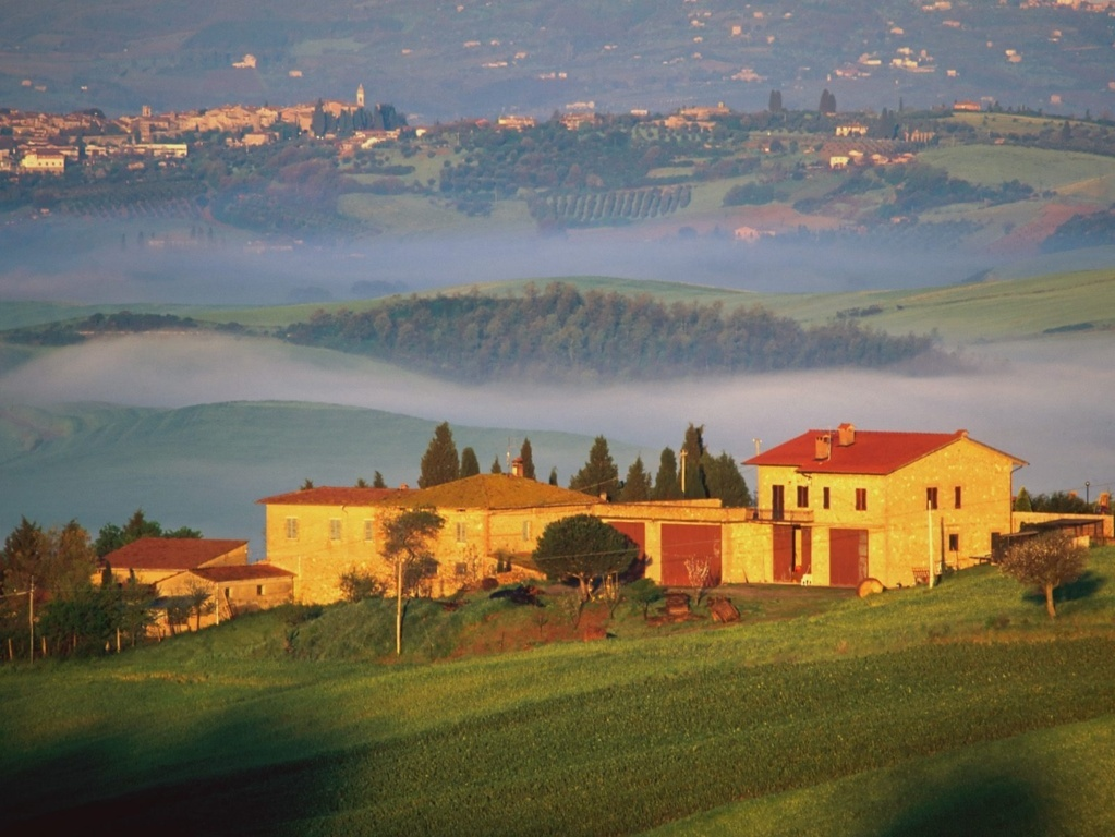 beautiful tuscany landscape italy - photo #32