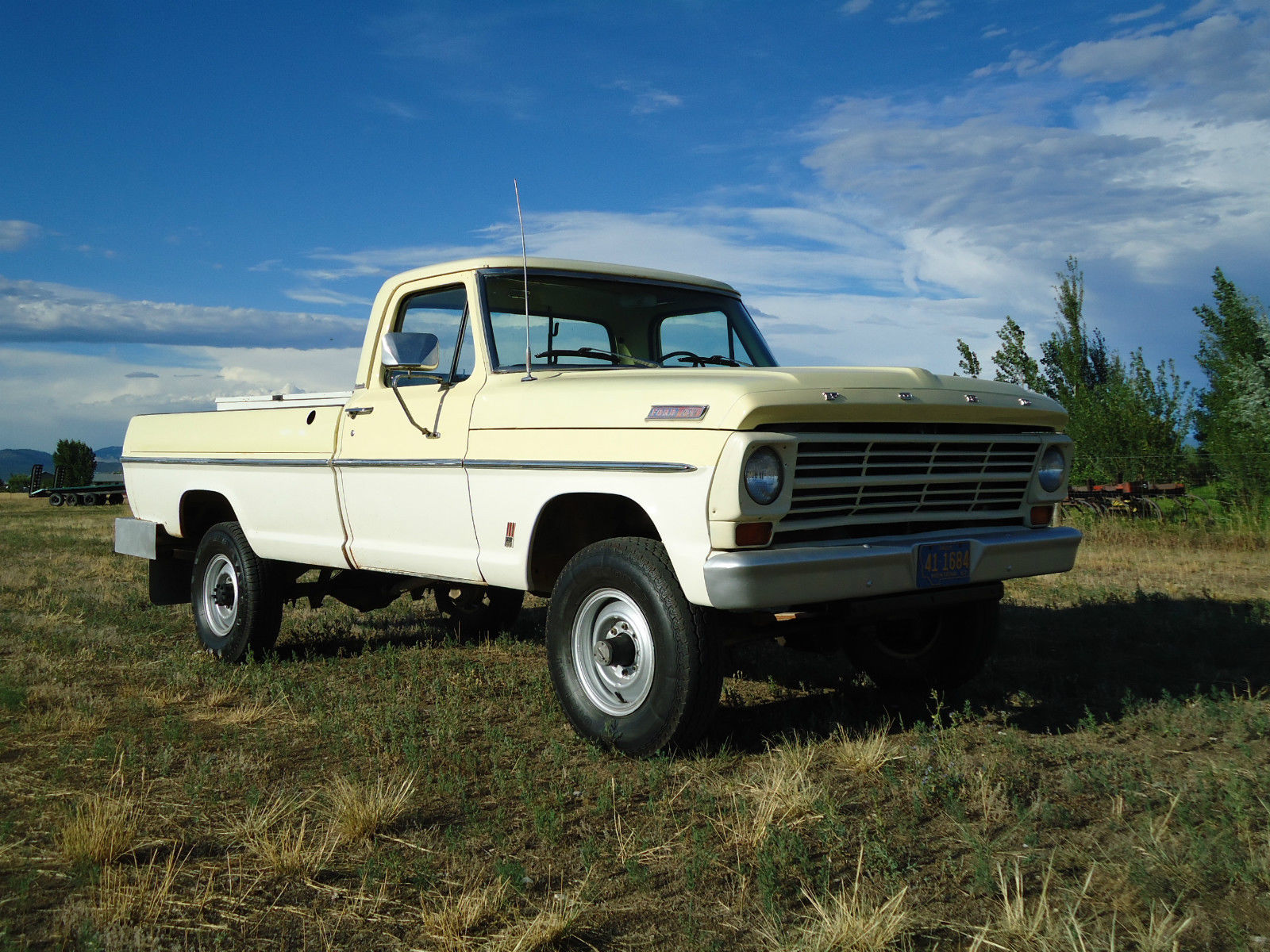 All American Classic Cars 1967 Ford F 250 4 Wd Pickup Truck 1969 F100 Short Bed