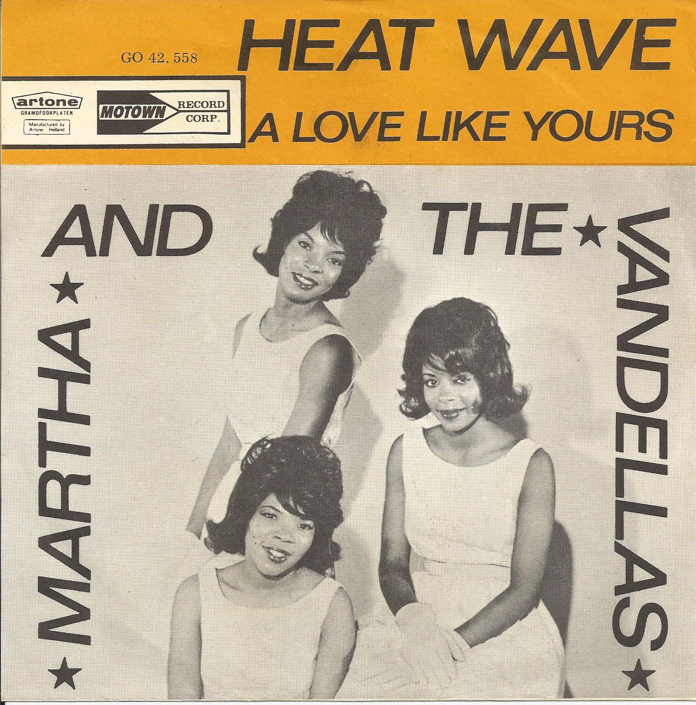 Martha The Vandellas Heat Wave