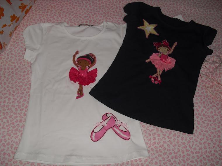 Camiseta bailarinas