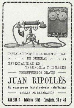 1926 JUAN RIPOLLES