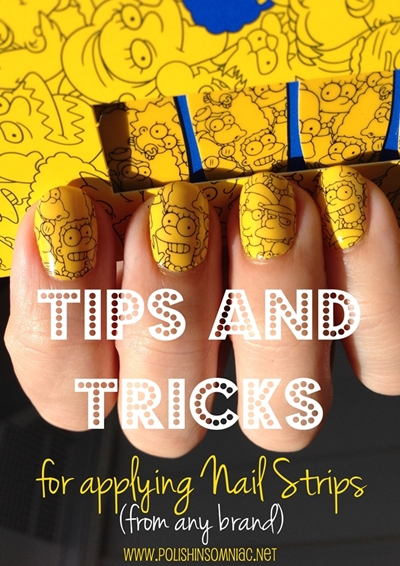 Tips and Tricks for Applying Nail Strips