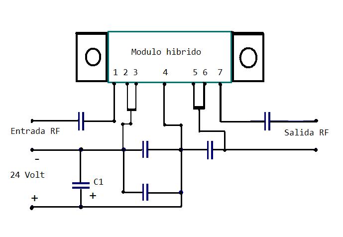 Circuito Amplificador : Circuito transmisor de tv amplificador para