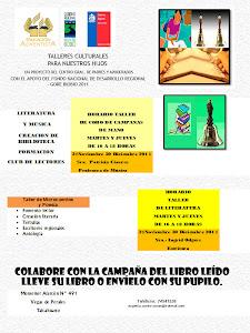 Afiche Talleres - Biblioteca