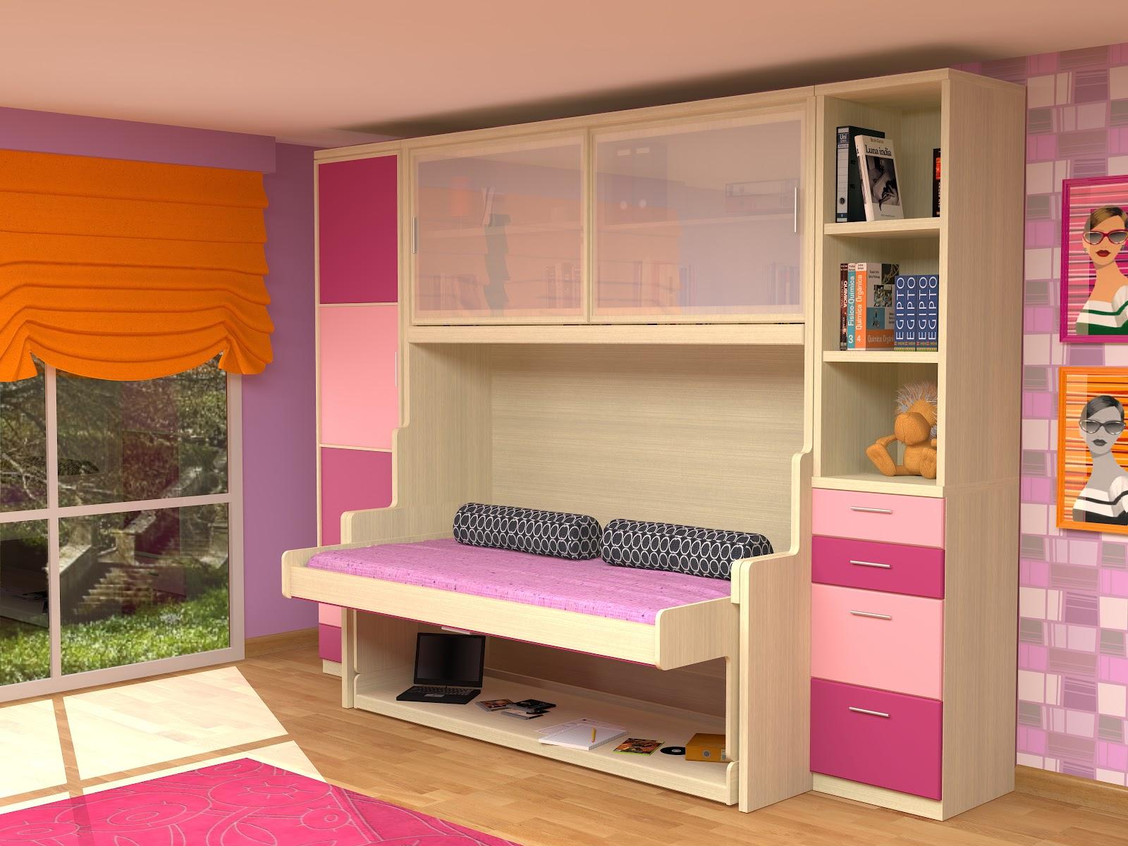 Muebles juveniles dormitorios infantiles y habitaciones for Camas de 1 05 juveniles