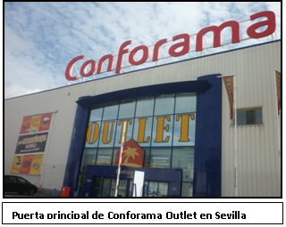 Conforama Outlet Sevilla