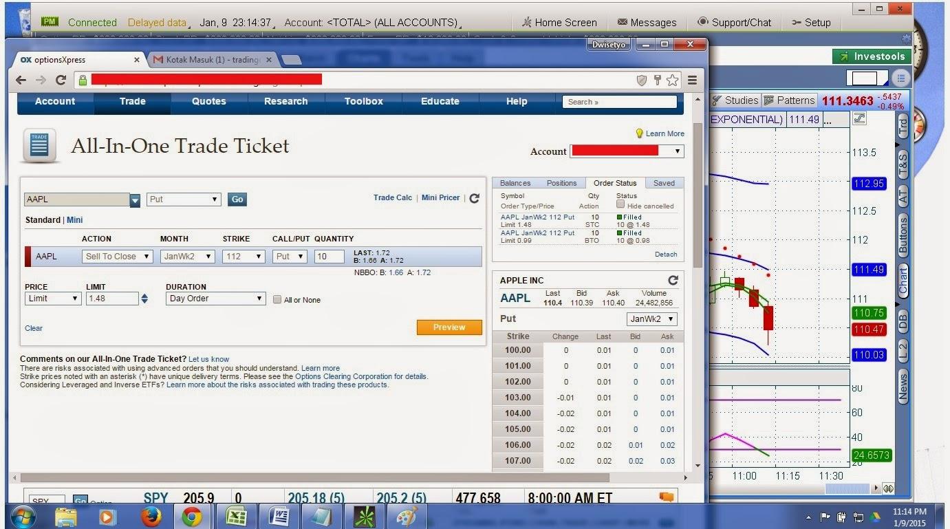 Kursus option trading