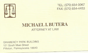 MICHAEL I. BUTERA TEL. (570) 654-0067 FAX (570) 654-4453