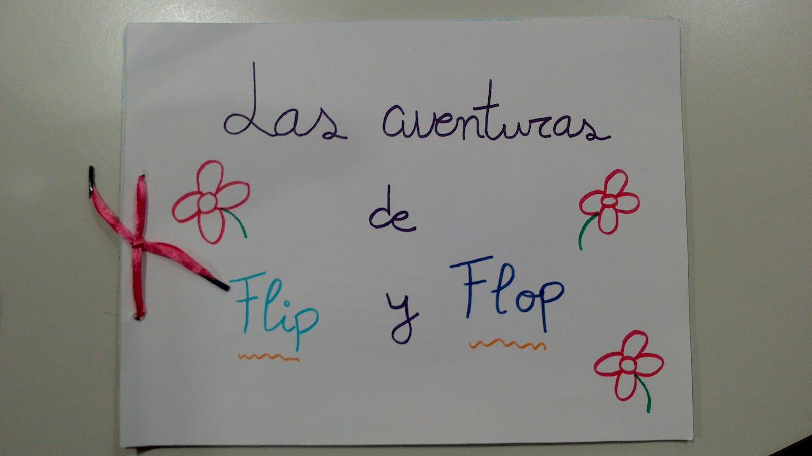 Caracol col col: Realización del cuento Las Aventuras de Flip y Flop.