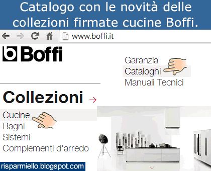 Risparmiello catalogo cucine boffi for Boffi cucine catalogo
