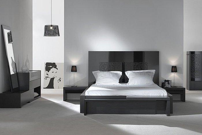 Decorando el hogar cabeceras de cama - Deco chambre noire ...