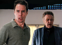 7 psicopatici Sam Rockwell e Christopher Walken