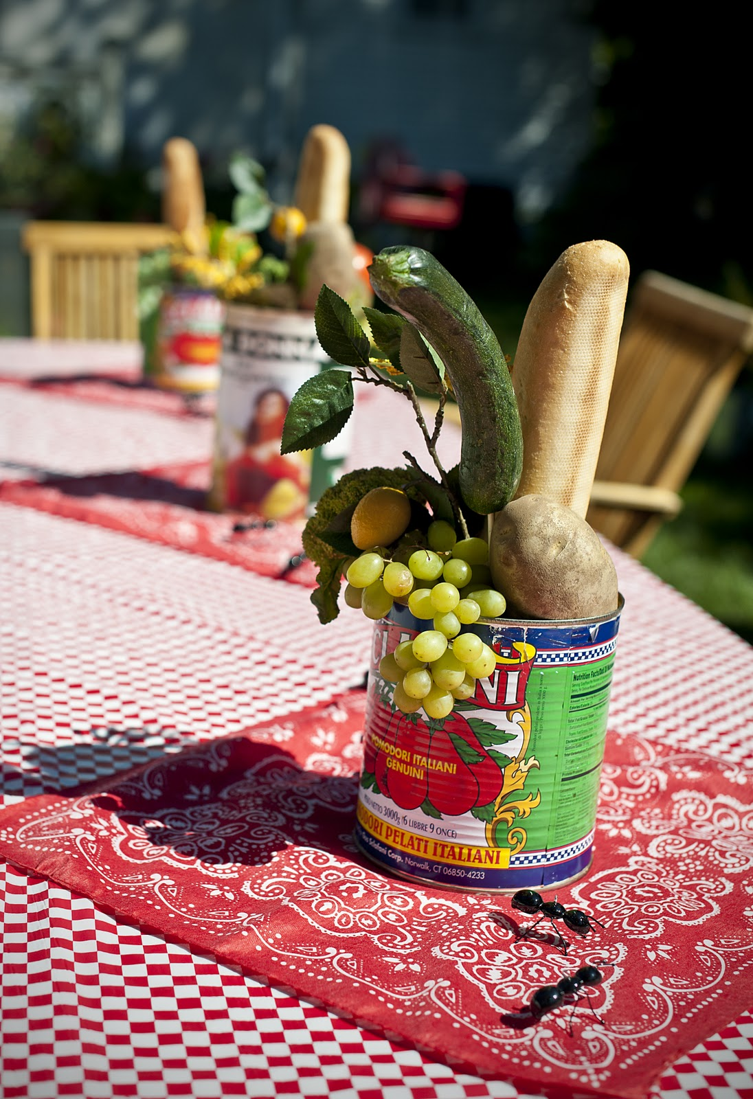 A party style picnic