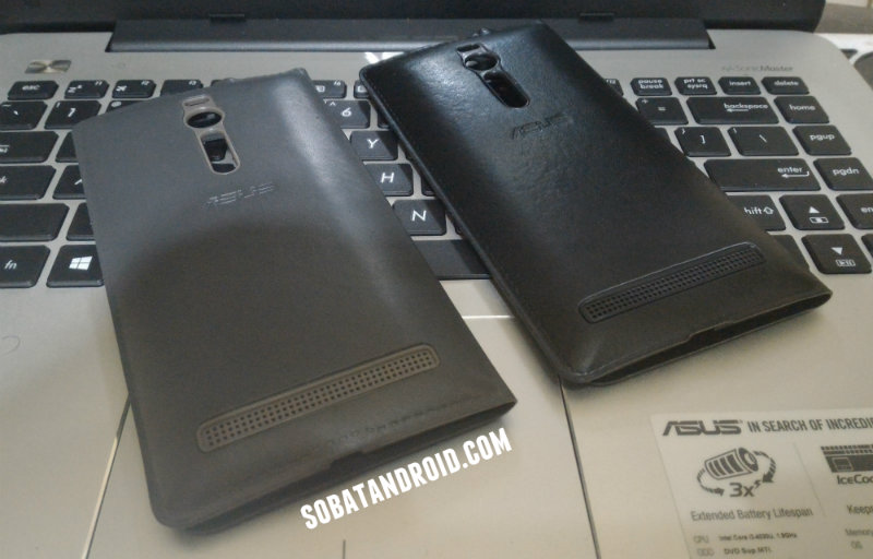 Review ASUS ZenFone 2 View Flip Cover Deluxe Non Original