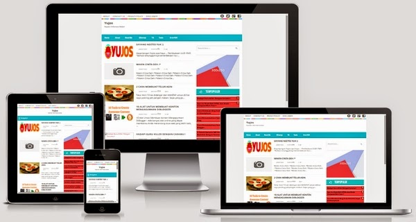 Yujos Responsive Blogger Template Free Download