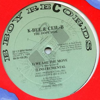 "K-Bee & Ceil-B – Who Am I – 12"" – 1988"