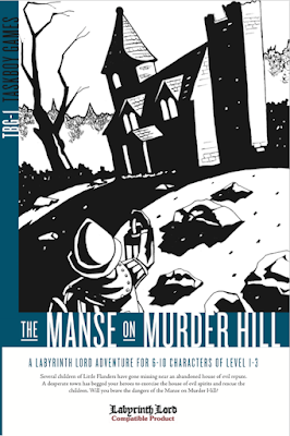 The Manse on Murder Hill - Joe Johnston // Corey Ryan Walden