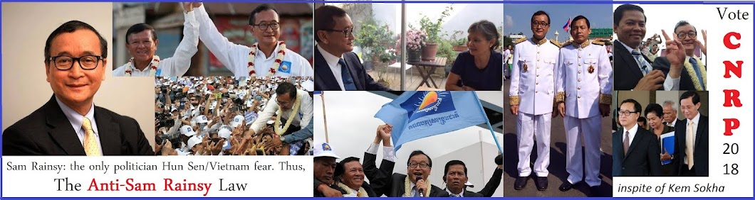 The Anti-Sam Rainsy Law