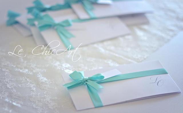 Partecipazioni Matrimonio Azzurro Tiffany : Partecipazioni blue tiffany l invito delle mie nozze