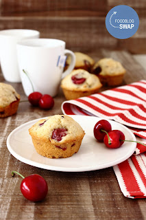 Kersenmuffins