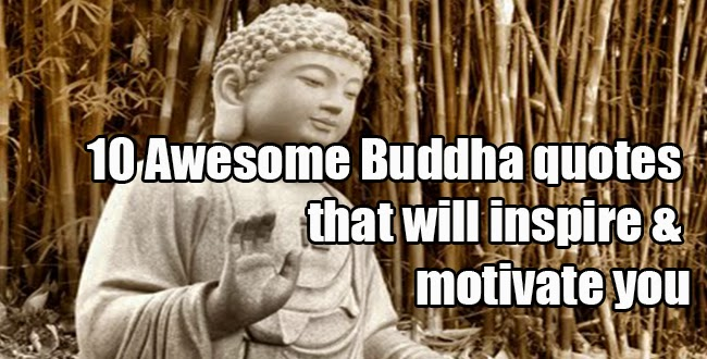 Awesome Buddha quotes that will ins