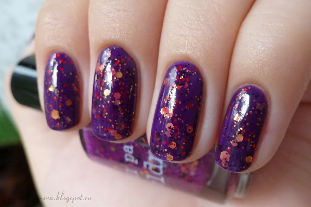 Nail pattern boldness Hello, Sweetie & Anny Snow revolution