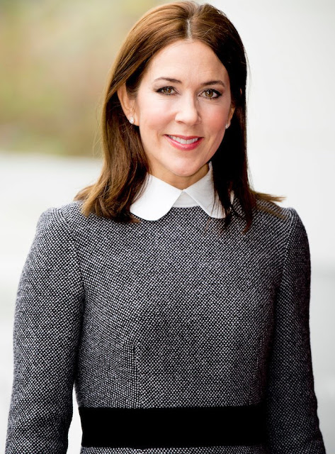 Crown Princess Mary Visited The ICC In The Hague