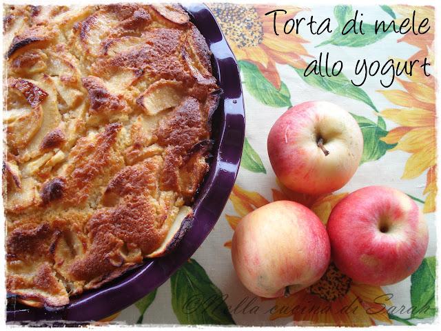 the recipe-tionist ~ torta di mele allo yogurt