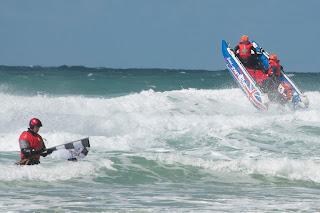 Stormy seas Newquay Cornwall