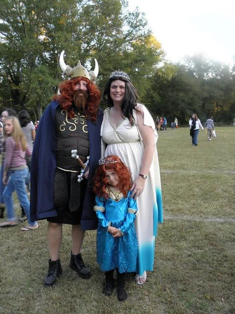 Brave Family Costume