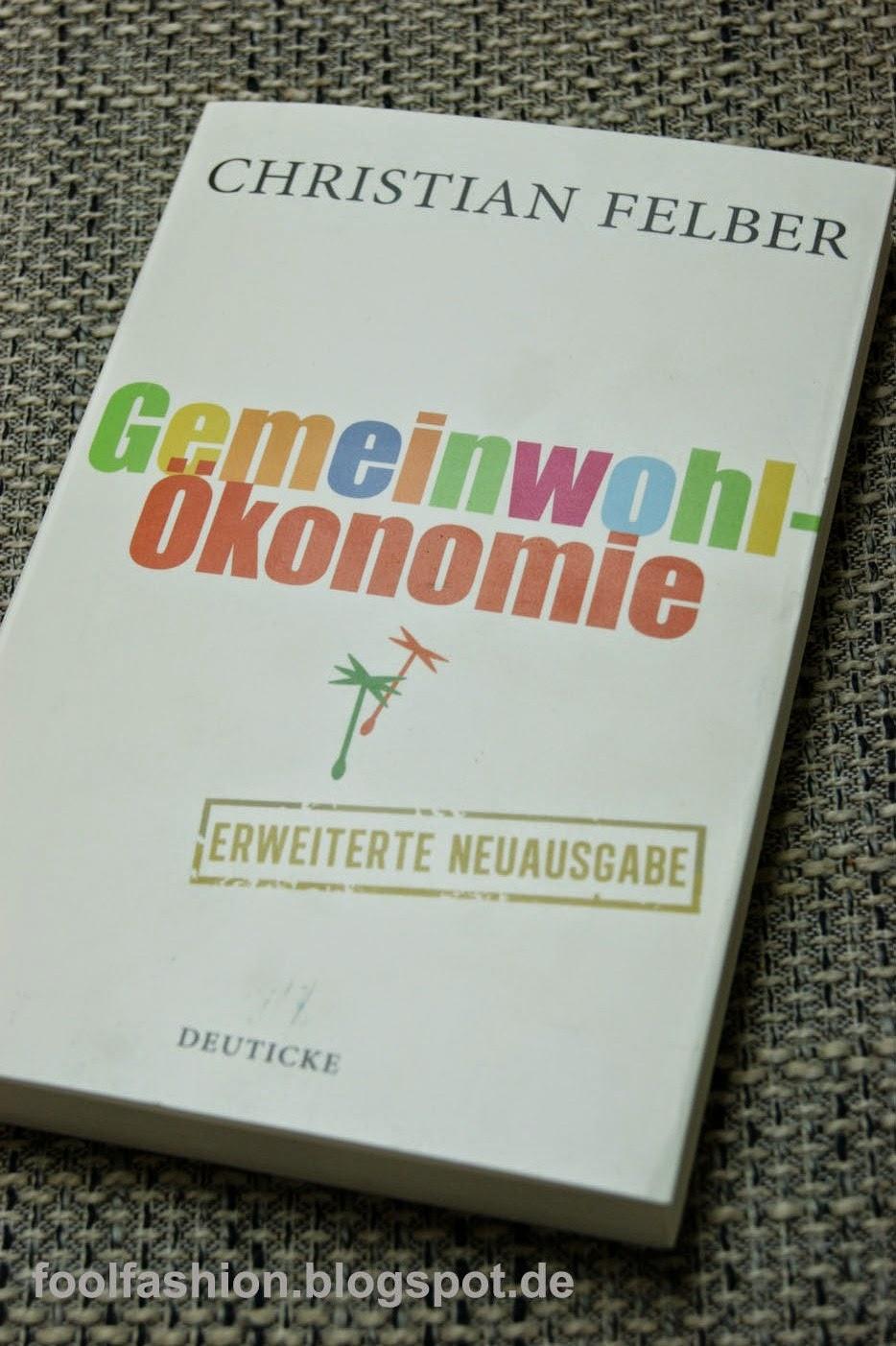 Buchvorstellung: Gemeinwohlökonomie