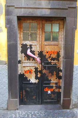 paint on you door
