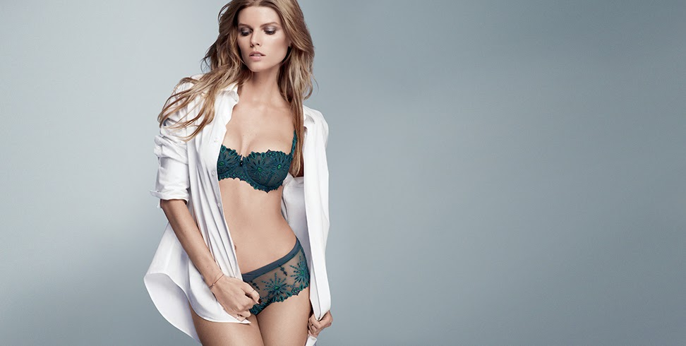 Chantelle Paris Fall/Winter 2014 Lingerie Lookbook